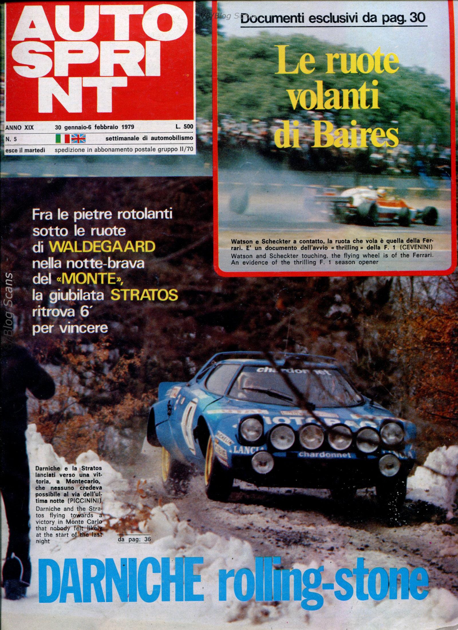 Rally Montecarlo V8 1979