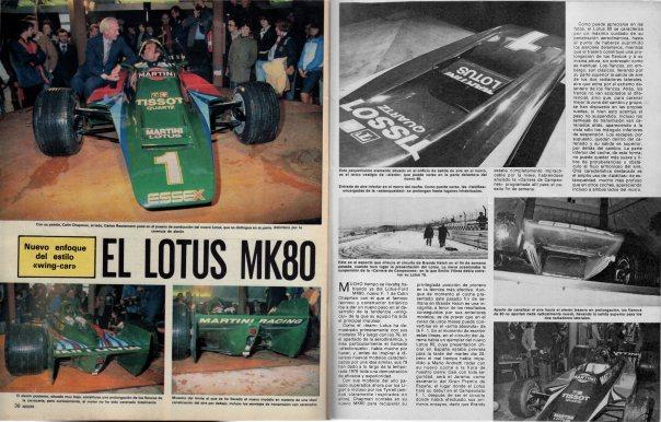 Lotus Type 80 F1 Autopista 250379